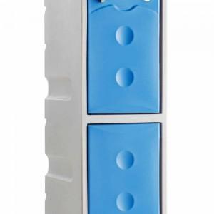 Probe Ultra Box Plastic Lockers - Two Compartments
