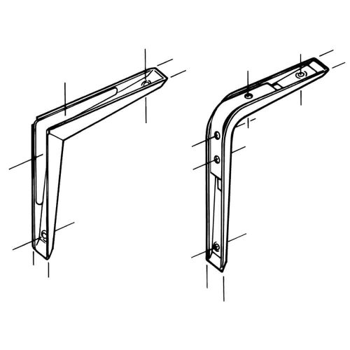 Wall Mounted - Strongbeam Brackets