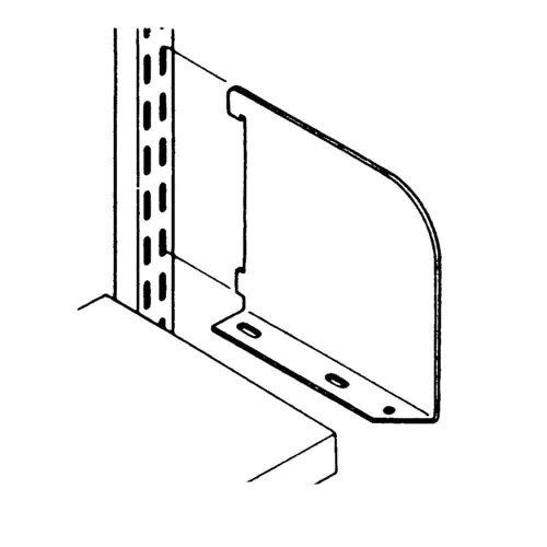 Wall Mounted - Shelf Ends
