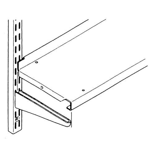 Wall Mounted - Steel Shelves