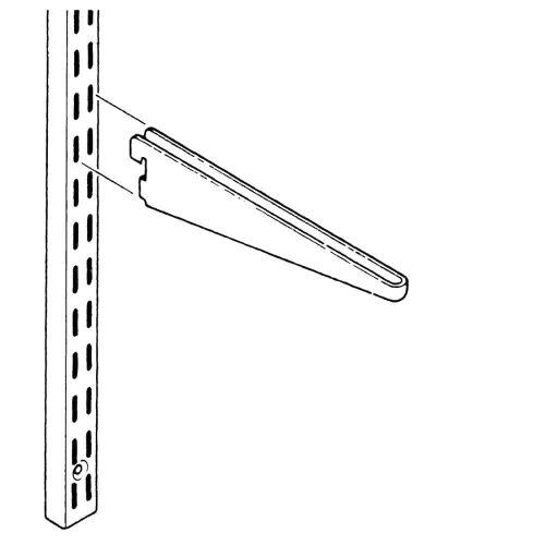 Wall Mounted - Straight Brackets