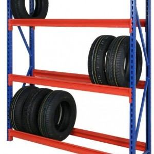 Longspan Tyre Racking Levels