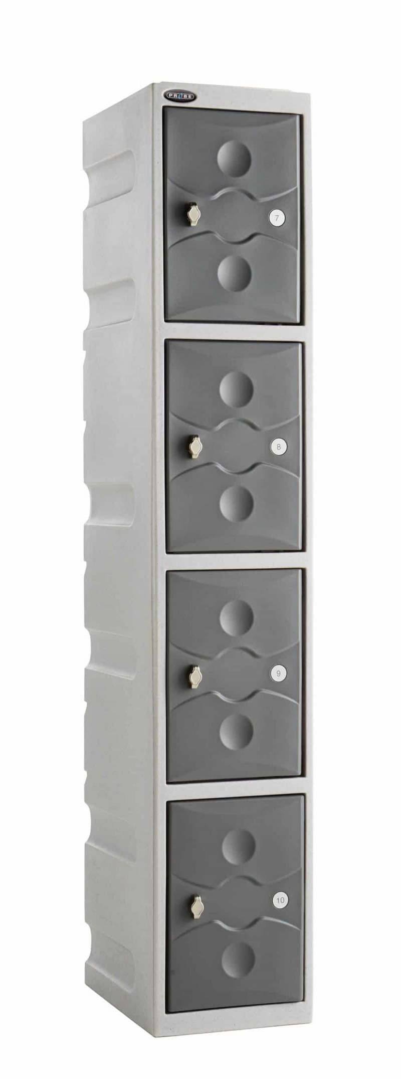 Probe Ultra Box Plastic Lockers - Four Compartments