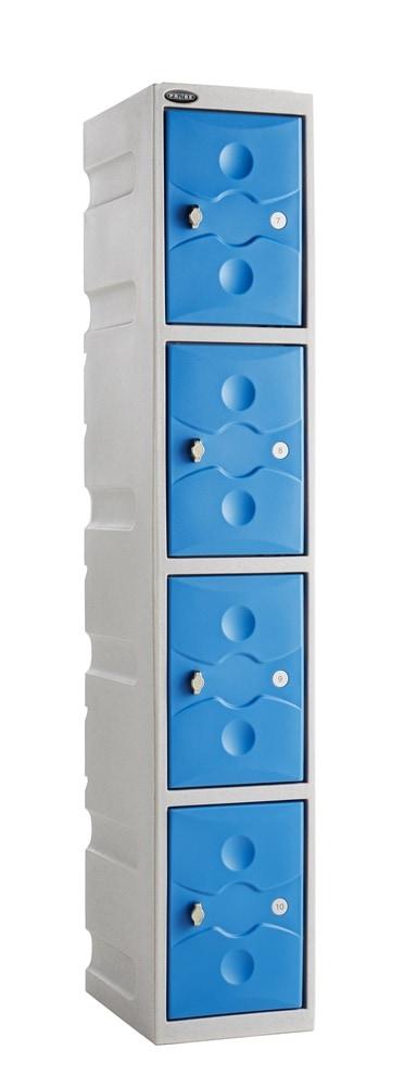 Probe Ultra Box Plastic Lockers - Four Compartments
