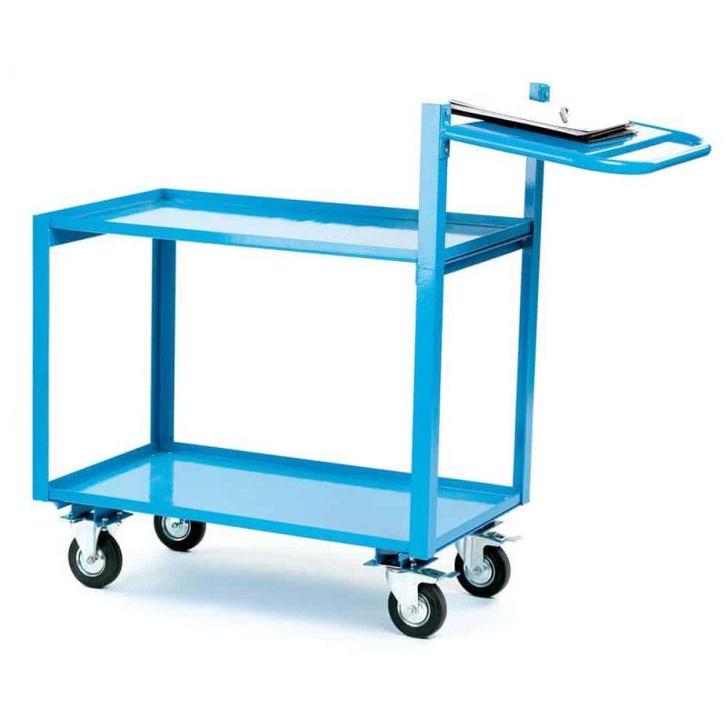 2 Tier Shelf Trolleys (KTI13Y)