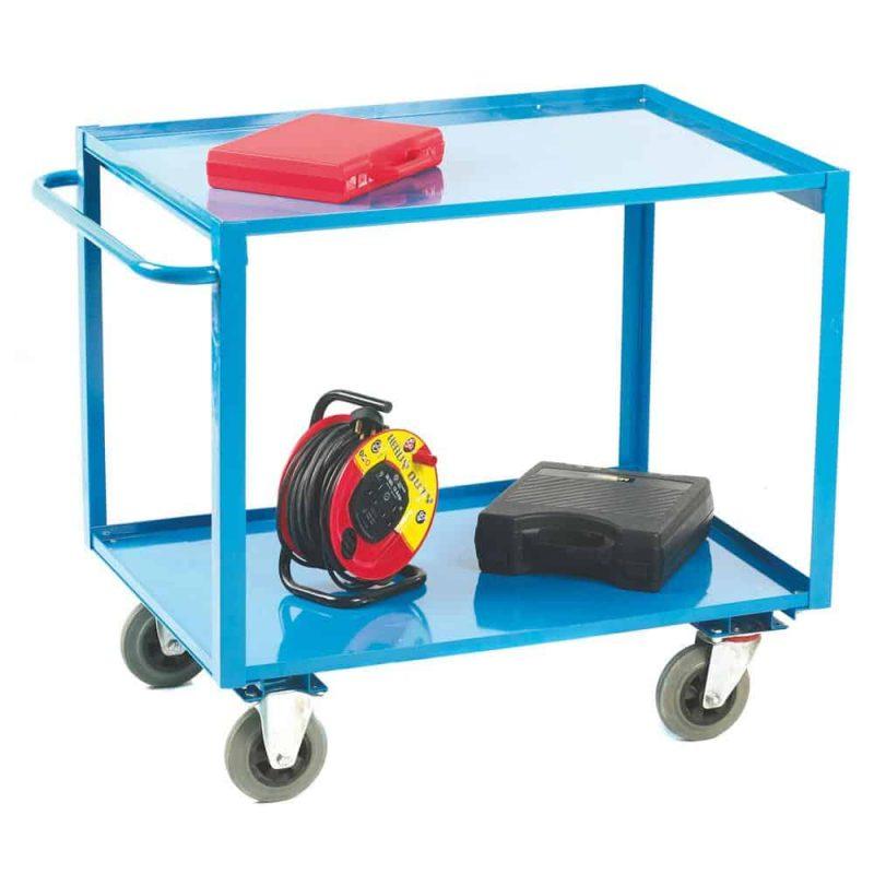 2 Tier Shelf Trolley