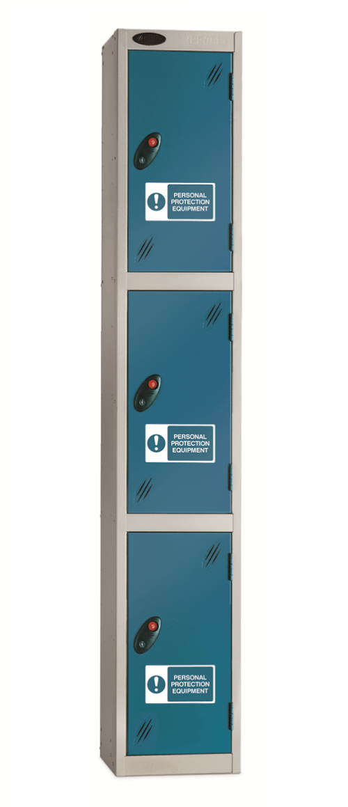 Probe PPE Lockers - Three Compartment