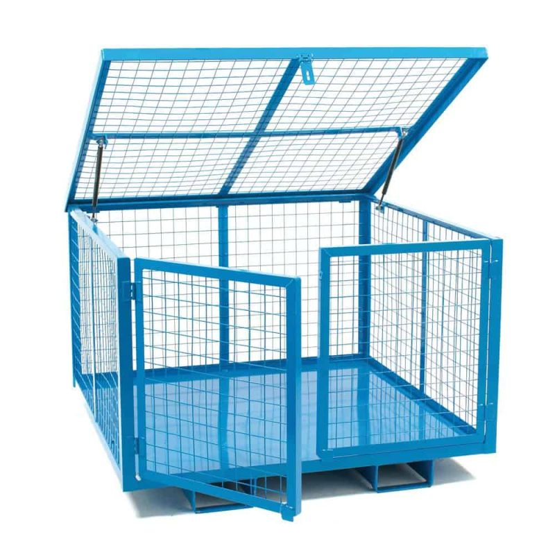 Security Cages with Lift Lid