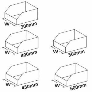K Bins (B Range) - Cardboard Storage Bins