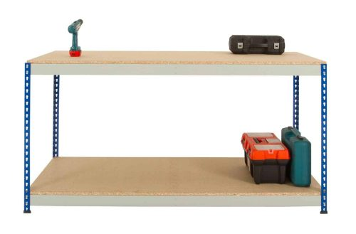 Rivet Workbench - Full Undershelf (Chipboard Decking)