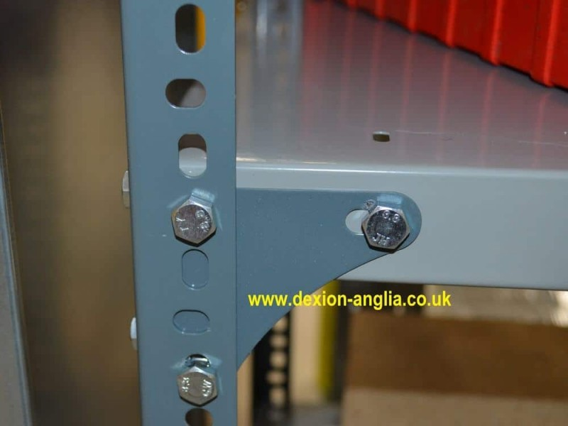 Dexion Slotted Angle Corner plates