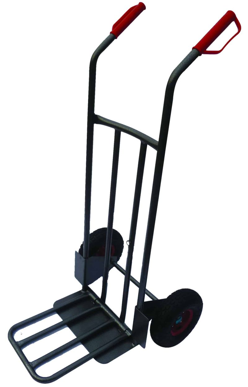 Heavy Duty Steel Sack Truck with Folding Toe