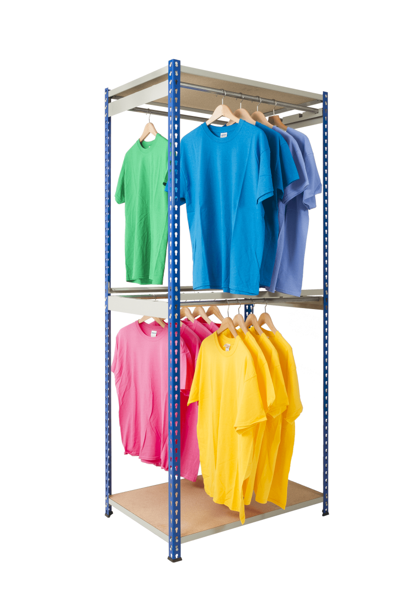 Rivet Racking Garment Storage