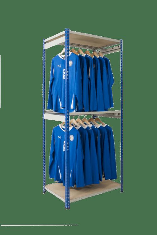 Rivet Racking Garment Storage