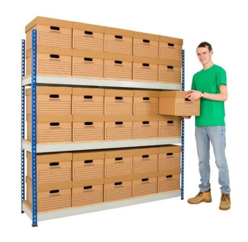 Archive Racking - 1525mm Wide Bays