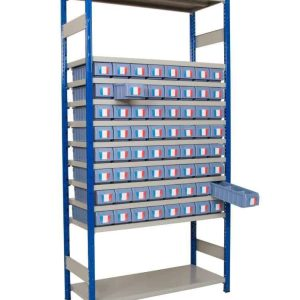 Expo 4 with Shelf Trays - 300mm D