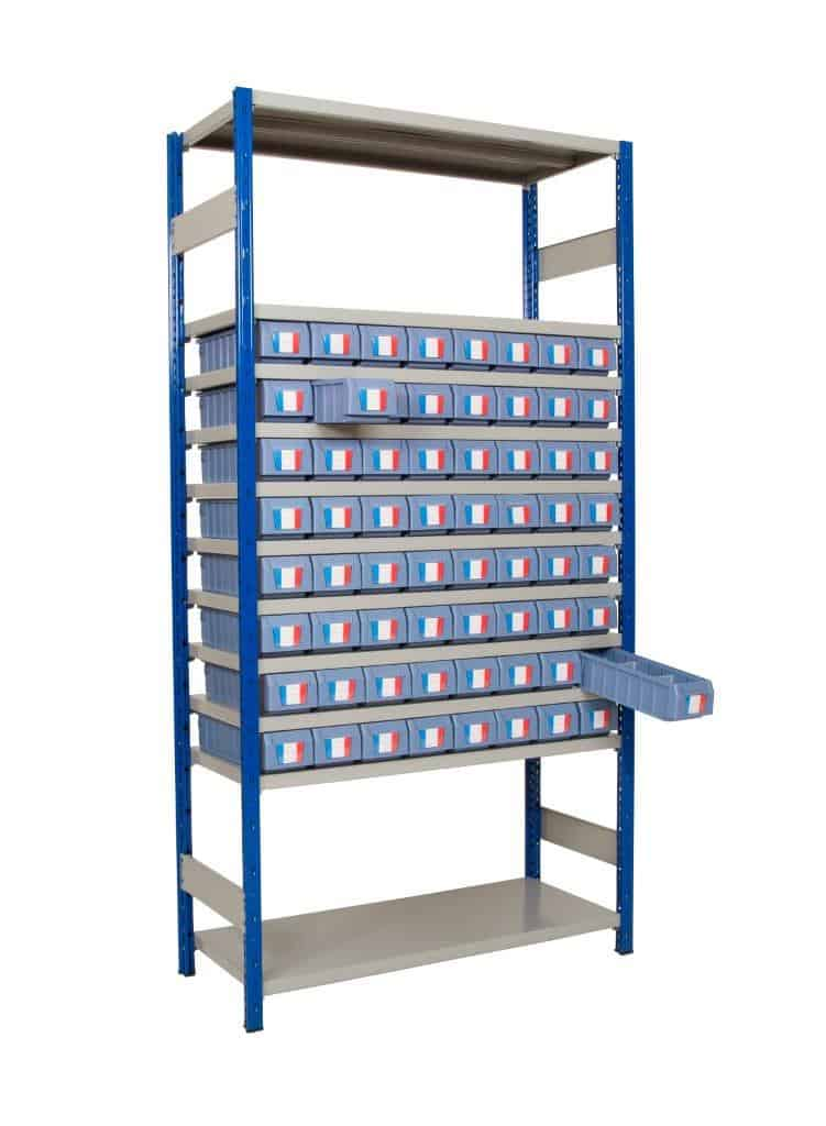 Expo 4 with Shelf Trays - Bay Type A