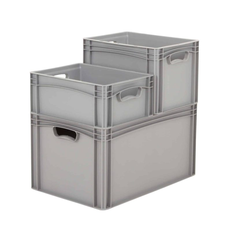 Euro Storage Containers - EBS/4317/OH/GY