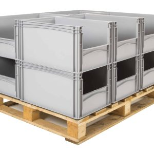 Euro Storage Containers - EBS/4322/OH/GY