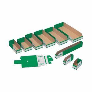 K Bins (A Range) - Cardboard Storage Bins