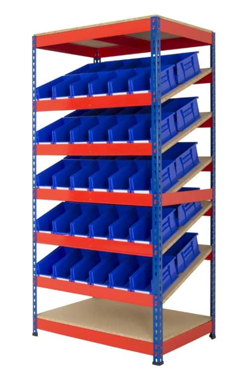 KanBan Shelving with Picking Bins (RRKB01)
