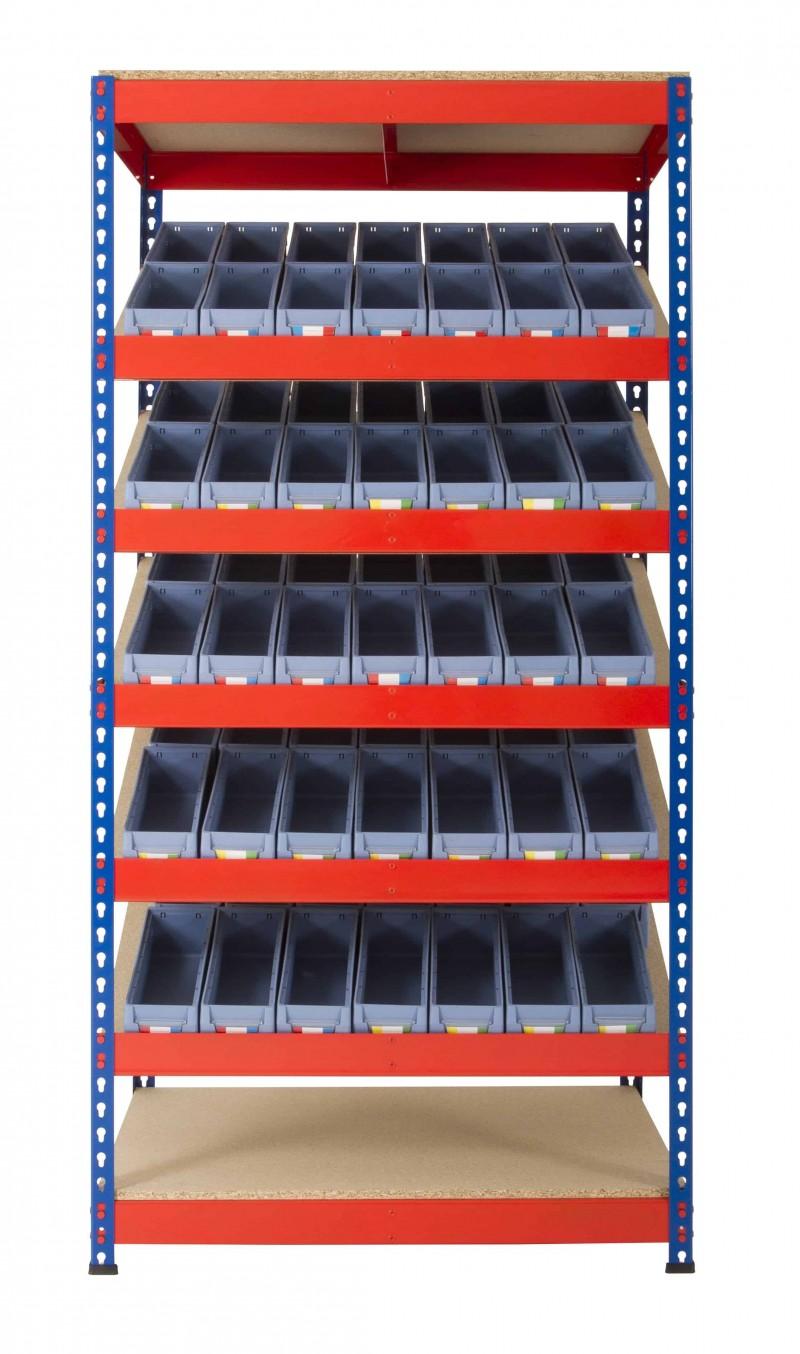 KanBan Shelving with Shelf Trays (RRKB02)