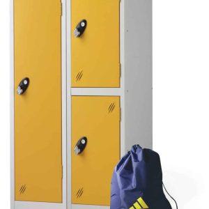 Low Locker Two-Tier