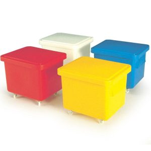 Nesting Mobile Container with Lid