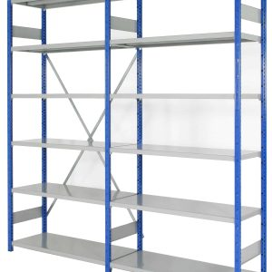 EXPO 4 Boltless - 300mm Deep - Open Shelving