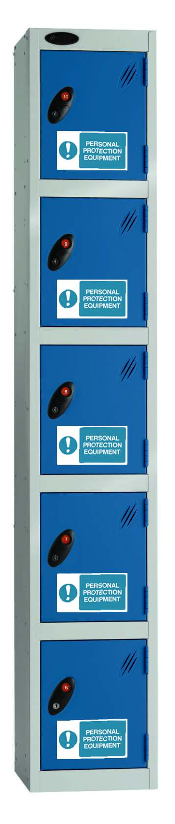 Probe PPE Lockers - Five Compartment