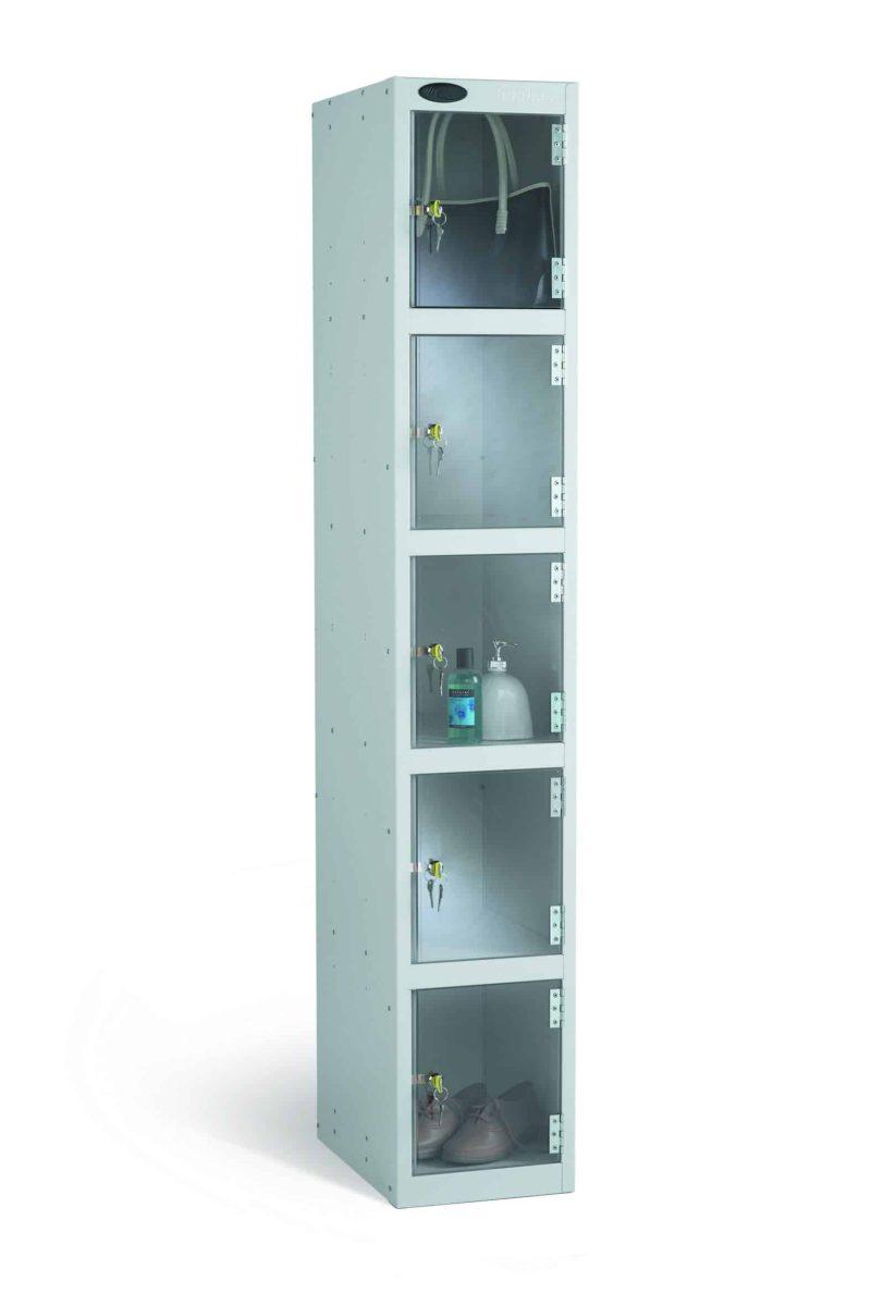Full Clear Door - Five Compartments