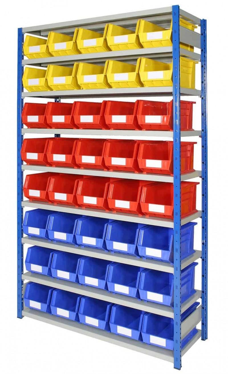 EXPO 4 bays with Storage Bins (ARTBEXRH01)