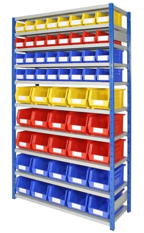 EXPO 4 bays with Storage Bins (ARTBEXRH02)