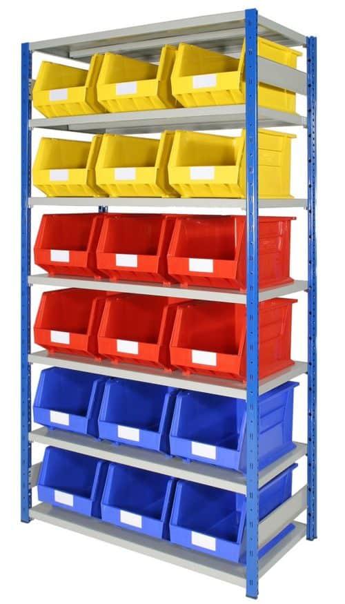 EXPO 4 bays with Storage Bins (ARTBEXRH03)