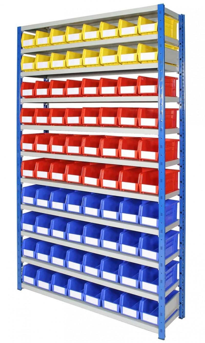 EXPO 4 bays with Storage Bins (ARTBEXRH04)
