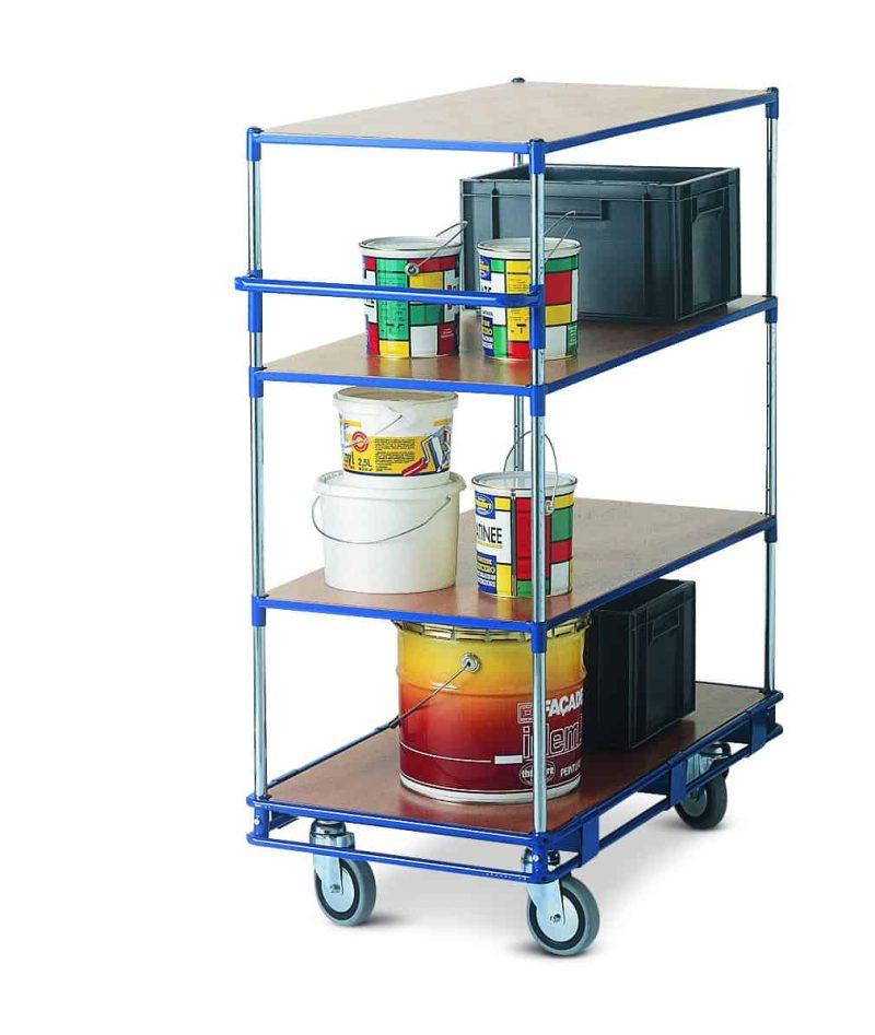 Shelf Trolley - 4 Shelf (XSC/1105/4)