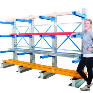 Single Sided Cantilever Rack