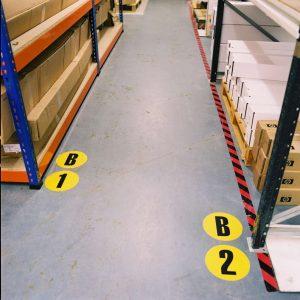 Floor Identification Marker