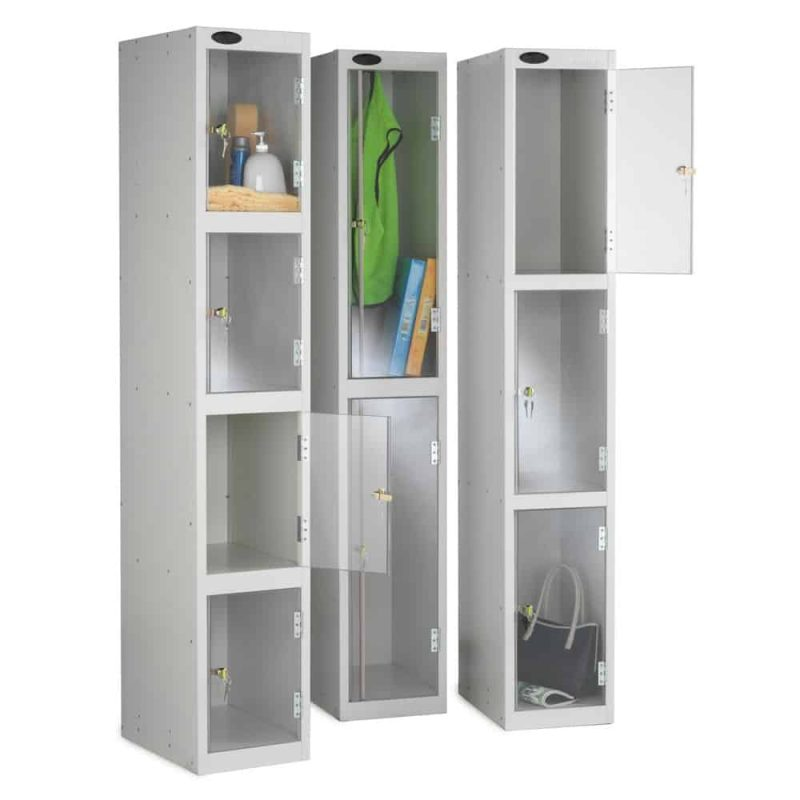 Full Clear Door - Two Compartments