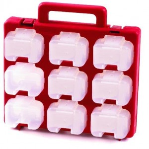 Small Part Storage Carry Case