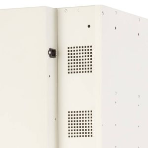 Probe Media Tower - Single Door, 10 Shelf Laptop Locker