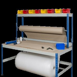 Wide Rivet Rack Packing Bench