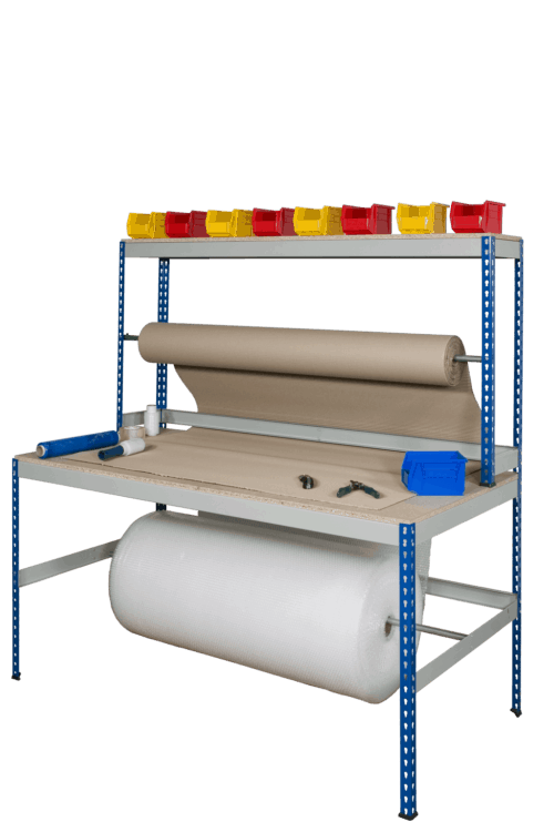 Wide Rivet Rack Packing Bench