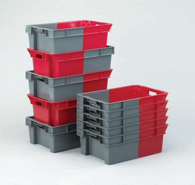 Two Tone Stack Nest Containers